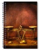 Pharmacy - Balancing Act  Spiral Notebook