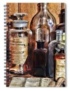 Pharmacy - Chloroform Throat Lozenges Spiral Notebook