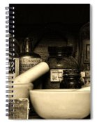 Pharmacy - Cod Liver Oil And More Spiral Notebook
