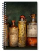Pharmacy - Daily Remedies  Spiral Notebook