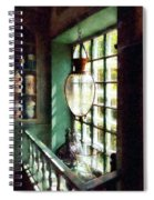 Pharmacy - Glass Mortar And Pestle On Windowsill Spiral Notebook