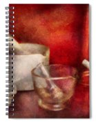 Pharmacy - Pestle - Endless Variety  Spiral Notebook