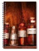 Pharmacy - Pharmacist's Fancy Fluids Spiral Notebook