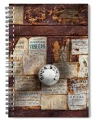 Pharmacy - Signs Of The Time  Spiral Notebook