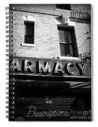 Pharmacy - Storefronts Of New York Spiral Notebook