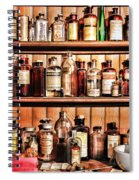 Pharmacy - The Medicine Shelf Spiral Notebook