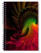 Pheasant Fire  Spiral Notebook
