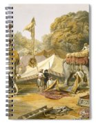 Pheel Khana, Or Elephants Quarters Spiral Notebook