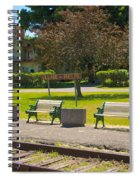 Phelps Ny Train Station Spiral Notebook