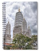 Phetchaburi Temple 17 Spiral Notebook