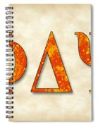 Phi Delta Psi - Parchment Spiral Notebook