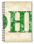 Phi Eta Kappa - Parchment Spiral Notebook