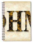 Phi Eta Mu - Parchment Spiral Notebook