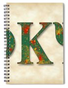Phi Kappa Psi - Parchment Spiral Notebook