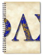 Phi Lambda Chi - Parchment Spiral Notebook