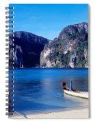 Phi Phi Islands Thailand Spiral Notebook