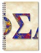Phi Sigma Alpha - Parchment Spiral Notebook