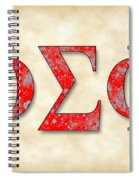 Phi Sigma Phi - Parchment Spiral Notebook