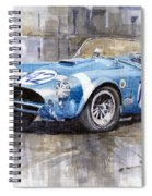 Phil Hill Ac Cobra-ford Targa Florio 1964 Spiral Notebook