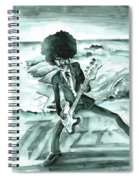 Phil Lynott In Howth Spiral Notebook