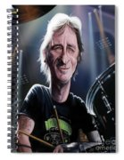 Phil Rudd Spiral Notebook