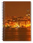 Philadelphia Across The Delaware Spiral Notebook