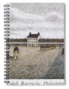 Philadelphia: Barracks Spiral Notebook