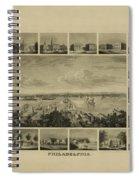 Philadelphia By J Serz Spiral Notebook
