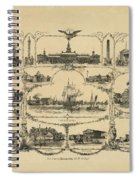 Philadelphia By James Fuller Queen Spiral Notebook
