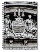 Philadelphia City Hall - City Seal  Spiral Notebook