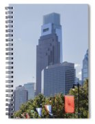 Philadelphia - City On The Rise Spiral Notebook