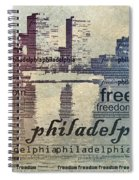 Philadelphia Freedom Spiral Notebook