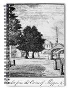 Philadelphia Market, 1788 Spiral Notebook