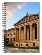 Philadelphia Museum Of Art Spiral Notebook
