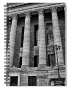 Philadelphia Museum Of Art - West Entrance Spiral Notebook