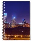 Philadelphia Nightscape Spiral Notebook