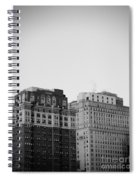 Philadelphia Skyline 2 Spiral Notebook