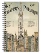 Philadelphia Skyscrapers Spiral Notebook