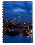 Philadelphia Twilight Spiral Notebook