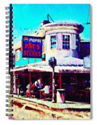 Philadelphia's Pat's Steaks Spiral Notebook