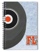 Philadephia Flyers Spiral Notebook