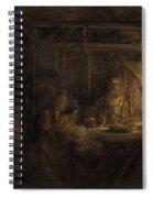 Philemon And Baucis Spiral Notebook