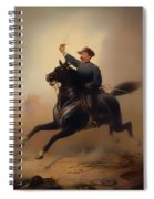 Philip Henry Sheridan Spiral Notebook