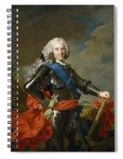 Philip V Of Spain Spiral Notebook