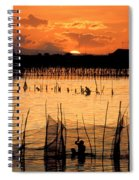 Philippines Manila Fishing Spiral Notebook
