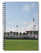 Phillies Brighthouse Stadium Clearwater Florida Spiral Notebook