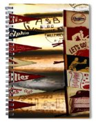 Phillies Pennants Spiral Notebook