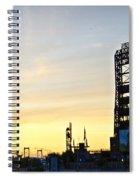 Phillies Stadium At Dawn Spiral Notebook