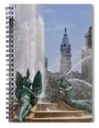 Philly Fountain Spiral Notebook