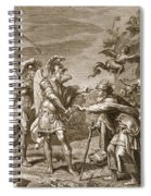 Phineus Is Delivered From The Harpies Spiral Notebook